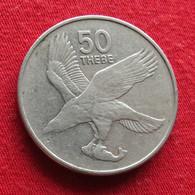 Botswana 50 Thebe 1991 KM# 7a Bird  Botsuana - Botswana