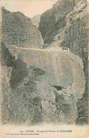 20 - Ghisoni - Passage De L'Inzeca De Ghisoni - Animée - Oblitération Ronde De 1919 - CPA - Voir Scans Recto-Verso - Autres Communes