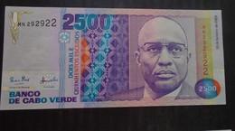 CAPE VERDE  ,  P 61  , 2500 Escudos 1989 ,  UNC  Neuf - Cape Verde