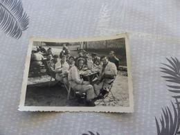 P-74,  Photo , ALBI , Repas D'aviateurs, WW2, 1939 - Guerra, Militari