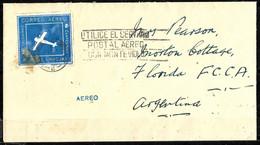E-839 - URUGUAY - 1924 - AIR MAIL -  COVER -   FORGERY, FALSE, FAUX, FAKE, FALSO - Zonder Classificatie