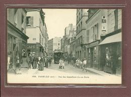 PARIS 20ème - RUE DES AMANDIERS A LA RUE DURIS - FLEURY N° 1058 - Distretto: 20