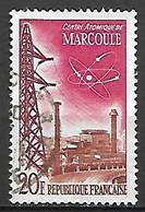 FRANCE    -   1959 .  Y&T N° 1204 Oblitéré.  Centre Atomique De Marcoule - Usati