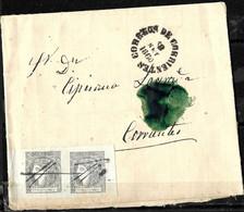 E-834 - ARGENTINA - 1860 - CORRIENTES - FOLDED COVER -   FORGERY, FALSE, FAUX, FAKE, FALSO - Zonder Classificatie