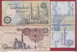 Egypte 3 Billets Dans L 'état Lot N °5 (169) - Egipto