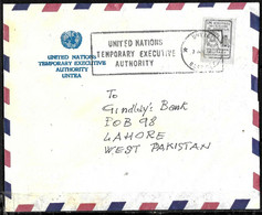 E-851 - UNITED NATIONS - 1950?? -ANGOLA OPERATIONS - COVER -   FORGERY, FALSE, FAUX, FAKE, FALSO - Zonder Classificatie