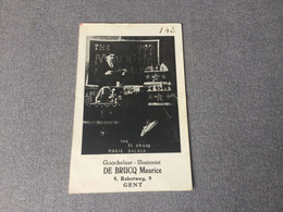 Goochelaar De Brucq Maurice - Gent