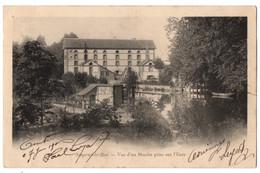 CPA 28 - NOGENT LE ROI (Eure Et Loir) - Vue D'un Moulin Prise Sur L'Eure - Nogent Le Roi