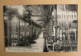 """Cpa - 63 - COURPIERE Manufacture Rubans MARTOUREY Frères """"Usine De Tissage"""" - Courpiere"""