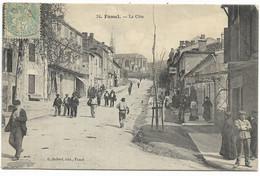 47-FUMEL- La Côte...1906  Animé - Fumel