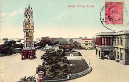 India - DELHI - Clock Tower - Publ. Moorli Dhur & Sons - India