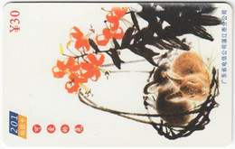 CHINA E-899 Prepaid ChinaTelecom - Painting, Animal, Rabbit - Used - Cina
