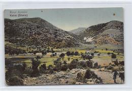 Crete - SFAKIA - Bird's Eye View Publ. N. Pérakis - Greece