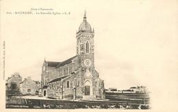 SAINT LUNAIRE CARTE PRECURSEUR LA NOUVELLE EGLISE - Saint-Lunaire