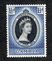 """BC 7996 """"Offers Welcome"""" Scott 162 Mint* - Gambia (...-1964)"""
