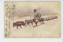 ETHNIQUES ET CULTURES - CERCLE ARCTIQUE - ALASKA - Indian Dog Team - America