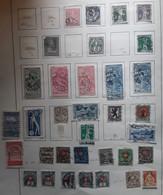 SUISSE SCHWEIZ 1854 - 1940 Collection + 350 Timbres Anciens Neufs Et O , Non Triés,  Pages Album TB FORTE COTE - Lotes/Colecciones