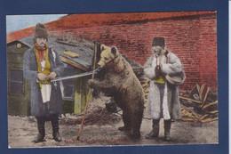 CPA Ours Montreur D'ours Roumanie Romania Non Circulé - Bears