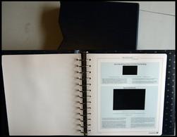 ALBEN Neuwertiger Deutschland Exklusiv Falzlostext 2007 Im Ringbinder Mit Schuber - Binders With Pages