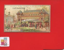 TARARE CAFE BARLERIN Chromo Exposition Universelle 1889 Chemin De Fer Decauville Train Bouillon Duval - Tea & Coffee Manufacturers