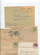 1405) 10 Belege Gesamtdeutschland - Machine Stamps (ATM)