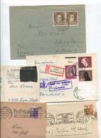 1719) 10 Belege Gesamtdeutschland - Machine Stamps (ATM)