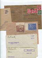 5465) 10 Belege Gesamtdeutschland - Machine Stamps (ATM)
