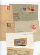 6652) 10 Belege Gesamtdeutschland - Machine Stamps (ATM)