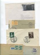 5061) 10 Belege Gesamtdeutschland - Machine Stamps (ATM)