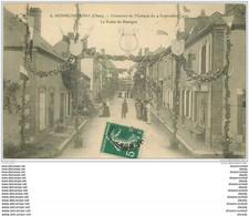 18 HENRICHEMONT. Concours De Musique Route De Bourges 1910 - Henrichemont