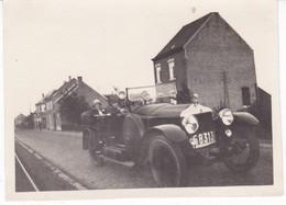 BELGIQUE CAMPENHOUT VOITURE ANCIENNE CHAUSSEE D HACOBT 1928 - Places