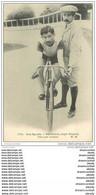 Sports Cyclisme Et Vélo. BROCCO. Stayer Français Tenu Par Lorgeou - Ciclismo