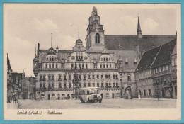 Zerbst (Anh.) Rathaus, Feldpost 1943 - Zerbst