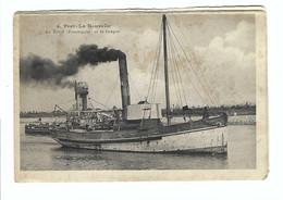 4 - Port-La Nouvelle  Le Bélier (Remorqueur) Et La Drague   (la Carte Montre De L'usure) - Port La Nouvelle