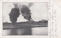 CARTE ALLEMANDE - GUERRE 14-18 - WERVIK (BELGIQUE) - BOMBARDEMENTS - Oorlog 1914-18