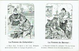 Bruxelles. Ligue Contre L'Alcoolisme. La Femme Du Cabaretier... Collection Bien Social. - Health, Hospitals
