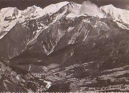 Les Houches   H1374         Vue Générale Et Chaîne Du Mont Blanc - Les Houches