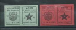 Italie  Timbres Du Courrier Partisan De Luino - National Liberation Committee (CLN)