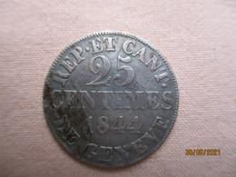 Suisse - Genève 25 Centimes 1844 - Suisse