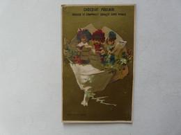 VIEUX PAPIERS - CHROMO : Chocolat POULAIN - FABLE - Enfants - Poulain