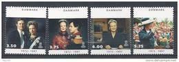 Danemark 1997 N° 1144/1147  Neufs ** 25 Ans De Règne De La Reine Margrethe - Ungebraucht