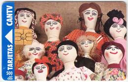 VENEZUELA A-319 Chip CanTV - Culture, Puppets - Used - Venezuela