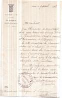 Dépt 77 - LAGNY-SUR-MARNE - Hospice Civil - Lettre à Monsieur BLAQUE - (avril 1913) - Lagny Sur Marne