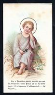 Santino/holycard: NATIVITA' - E - PR - Cromolitografia - Religione & Esoterismo