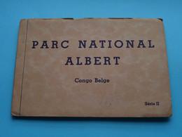 PARC NATIONAL ALBERT Congo Belge - Série II ( Carnet De 10 Cartes ) Anno 19?? ( See / Voir Foto ) ! - Lubumbashi