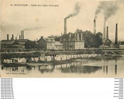 WW Rare Lot De 5 Cpa FRANCE. Usines à Montluçon, Catastrophe Du Liberté Toulon, Lyon, Napoléon Montereau Et Montauban - 5 - 99 Postcards