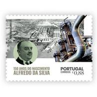 Portugal ** & 150 Years Of Alfredo Da Silva Birth, C.U.F, Industrial 2021 (19947) - Altri