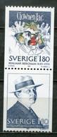 Schweden Sweden Sverige Mi# 1249-50 Postfrisch/MNH - Writer - Nuovi