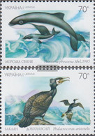 Ukraine 510-511 (complete Issue) Unmounted Mint / Never Hinged 2002 Affected Animal And Plant - Ucraina