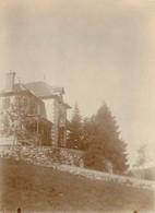 PHOTO ANCIENNE - 88 VOSGES GERARDMER LA MAISON DE FAMILLE BALCON TERRASSE 1900 VUE DE COTE - Gerardmer